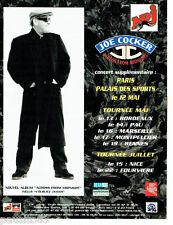 PUBLICITE ADVERTISING 096  1998   Joe Cocker concert  across from midnight Nrj