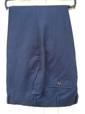Gurteen Mens Summer linen/Cotton smart trouser - Navy blue - BNWT - many sizes