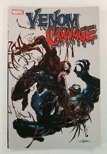 Venom vs.Carnage #1-4 Marvel Comics Clayton Crain TPB Trade Paperback 1ST PRINT!