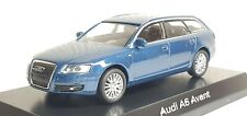 1/64 Kyosho AUDI A6 AVANT WAGON BLUE diecast car model