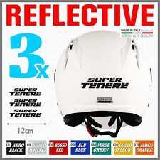 3x Yamaha Super Tenere XT 1200 Z Rerflective Black ADESIVI PEGATINA STICKERS