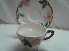 Franciscan china Desert Rose U.S.A.California stamp jumbo cup and saucer