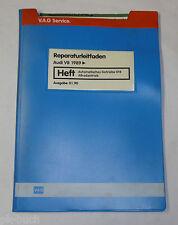 Werkstatthandbuch Audi V8 Automatik Getriebe 018 Allradantrieb Quattro ab 1989