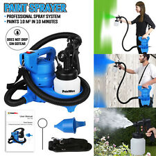 480W Electric Paint Painting Sprayer Gun 3-ways With Copper Nozzle Cooling Sys