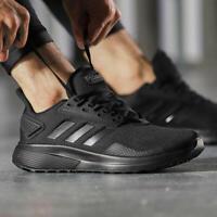 Adidas Men Shoes Running Duramo 9 Training Workout Fashion Gym Black B96578 New
