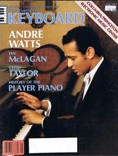 1981 Keyboard Magazine: Andre Watts, Cecil Taylor, Korg CX-3, ES-50, Rhythm55 VG