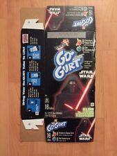 2016 Yoplait GoGurt Kylo Ren Star Wars The Force Awakens Packaging