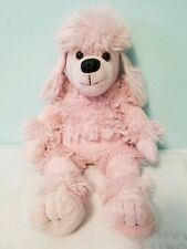 Build a Bear Pink French Poodle Plush Dog