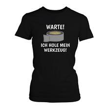 Werkzeug Damen T-Shirt Fun Shirt Heimwerker Handwerk Bastler Hobby Lustig Neu