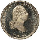 1870s Washington Mount Vernon Masonic Lodge No. 228 Medal B-306C - NGC MS 64 PL