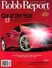 Robb Report Magazine April 2016 SPECIAL ISSUE Car of the Year 13 Autos Face Off