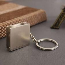 Pocket Tape Measure Keychain Key Chain Ring Keyring Key Fob Holder