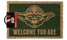 STAR WARS (YODA) DOOR MAT  GP85052  Doormat 100% Coir Rubber Back Door Mat