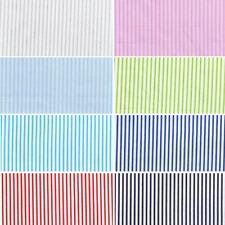 100% Cotton Poplin Fabric John Louden Fancy Bright Candy Stripes Lines