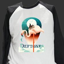 DEFTONES METAL ROCK T-SHIRT BASEBALL LONG SLEEVE faith no more tool S-3XL
