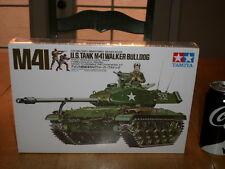 WW#2, U.S. M-41 WALKER BULLDOG TANK, TAMIYA Plastic Model Tank Kit ,Scale 1/35