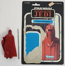 Vintage Kenner Star Wars Emp. Royal Guard figure with ROTJ backer card Complete