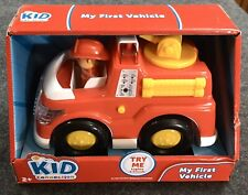 Kid Connection My First Vehicle Fire Truck with Lights Toy Gift PO