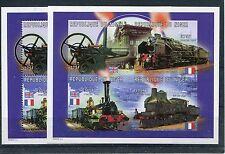 Niger 1298/1301 Kleinbogen geschnitten und gezähnt / Eisenbahn ...........1/3673