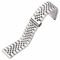 Watch Band Bracelet Stainless Steel 16 18 19 20 21 22mm Solid Metal Wrist Strap