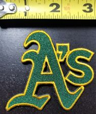 """Oakland A's Athletics 3"""" Iron/Sew On Embroidered Patch FREE SHIPPING FROM U.S.~"""
