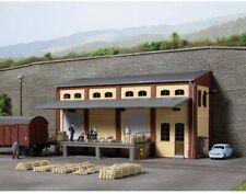More details for auhagen 11436 gauge h0 half-relief warehouse 1/87 scale plastic kit