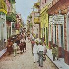 Puerto Rico San Juan Street Scene Dooley Smith Vendors Pettijohn Stereoview G88