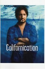 DAVID DUCHOVNY SIGNED CALIFORNICATION PHOTO 11X17 AUTOGRAPH X FILES