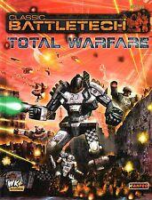BATTLETECH-THE FUTURE OF WAR-TOTAL WARFARE-RULEBOOK-(HC)-engl.-neu-new
