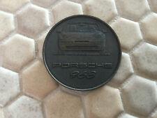 PORSCHE 968 CABRIOLET OFFICIAL CHRISTOPHORUS CALENDAR COIN MEDAL TOKEN 1992.