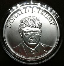 Donald Trump 1 oz Silver Round MAGA High Relief Presidential Inauguration Medal