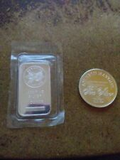 One troy oz jm silver round .999 and one troy oz sunshine mint .999 Silver bar