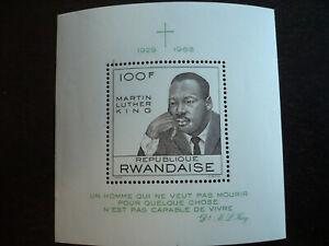 Stamps - Rwanda - Scott# 255 - Souvenir Sheet