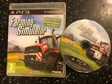 PAL SONY PLAYSTATION 3 PS3 SIM GAME FARMING SIMULATOR  (2013) +BOX PAL