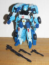 Transformers Generations Deluxe Class Blurr 100% Complete henkei united chug