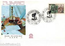 1969 - FDC 1°JOUR - FOIRE DES ANTIQUAIRES ET BROCANTEURS-CAEN - TIMBRE Yt.1589
