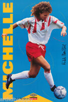 POSTER : SOCCER :  MICHELLE AKERS - STAHL : UMBRO -  FREE SHIPPING !    RAP12 B