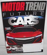 #8717 Motor Trend Magazine April 2012