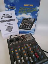 2000's Audio model AMX7303 professional 4 channel mixer