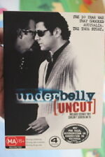 UNDERBELLY UNCUT DELETED RARE DVD AUSTRALIAN COMPLETE TV SERIES VINCE COLOSIMO