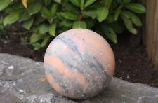 marbre boule rose pierre naturelle résistant au gel Décoration de jardin NEUF