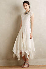 NWT Anthropologie Embroidered Palena Dress by Payal Pratap 0(XS) $298 White Lace
