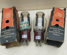 5Z3 Fivre NOS Tube Rectifier Pair Tested -Coppia Valvole Rettificatrici Testate