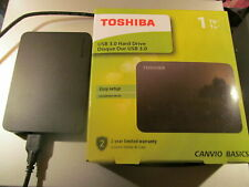 Toshiba 1TB External Hard Drive +Rock music collection