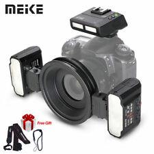 Meike MT24 Macro Twin Lite Flash set with trigger for Nikon Digital DSLR Cameras