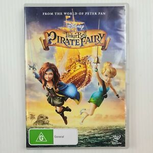 Tinker Bell And The Pirate Fairy DVD - Region 4 - TRACKED POST - Disney
