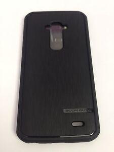 New Bodyglove Satin Black TPU Rubber Case Cover For LG G Flex