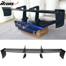 65 Inch Universal JDM GT Style Real Carbon Fiber CF Race Trunk Spoiler Wing