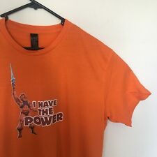 He-Man Masters Of The Universe I Have The Power Orange T-Shirt