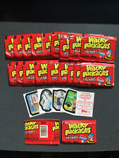 20 - 1986 Topps Wacky Packages Sticker Packs - Fresh from Box! Unopened/Sealed